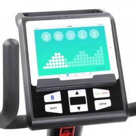 DKN RB-4i Vélo d'appartement allongé avec application pour iPad