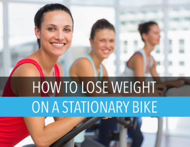 Lose weight on a stationary bike