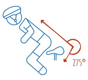 Richtige Position des Rückens auf dem Heimtrainer