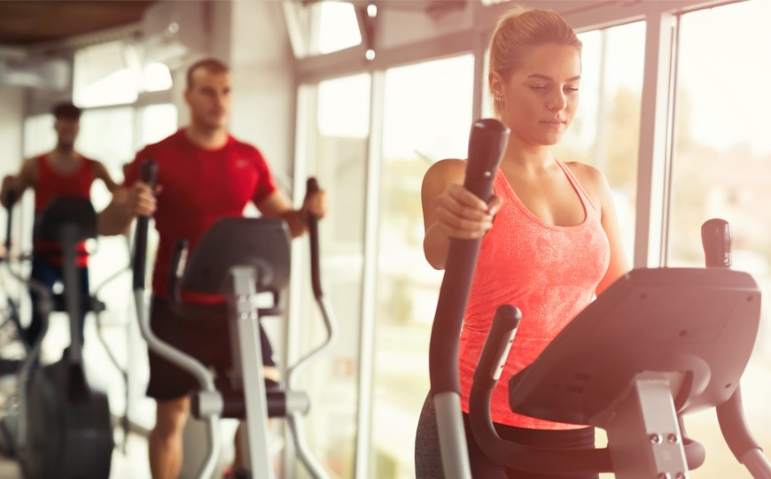 5 Cross Trainer Elliptical Workouts for Beginners to Lose Weight!